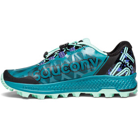 saucony Koa ST Shoes Women Green/Black/Aqua